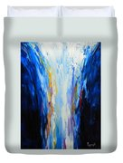 The Word Made Flesh, God Poured Out Duvet Cover