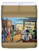 The World Of Classic Westerns Duvet Cover