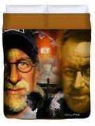 The World Of Steven Spielberg Duvet Cover