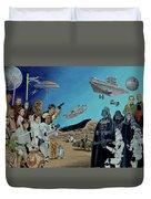 The World Of Star Wars Duvet Cover