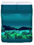 The Wreck Diving The Reef Series Duvet Cover