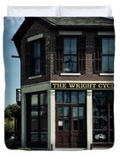 The Wright Cycle Company - Dayton Ohio Duvet Cover