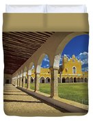 The Yellow City Of Izamal, Mexico Duvet Cover