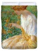 The Yellow Flower 1908 Duvet Cover