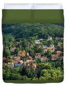 The Yellow House Duvet Cover