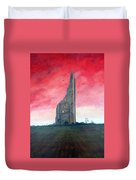 The Yellow Steeple Duvet Cover