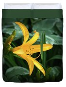 The Yelloy Lily Duvet Cover