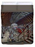 The York Train Station Duvet Cover