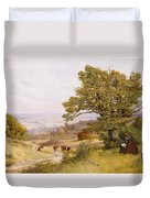 The Young Artist Duvet Cover by Henry Key