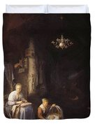 The Young Mother 1658 Duvet Cover