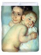 The Young Mother Duvet Cover