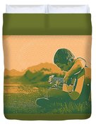 The Young Musician 2 Duvet Cover