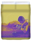 The Young Musician 3 Duvet Cover