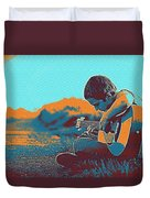 The Young Musician Duvet Cover