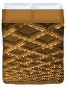 Theater Ceiling Marquee Lights Duvet Cover