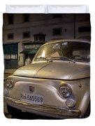 The Fiat 500 Duvet Cover