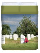 Their Wives Are With Them In Arlington Duvet Cover