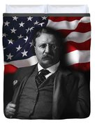 Theodore Roosevelt 26th President Of The United States Duvet Cover
