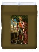 Theodoric King Of The Goths Duvet Cover