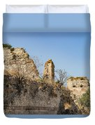 Theodosian Walls - View 10 Duvet Cover