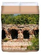Theodosian Walls - View 13 Duvet Cover