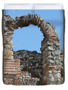 Theodosian Walls - View 17 Duvet Cover