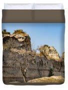 Theodosian Walls - View 7 Duvet Cover