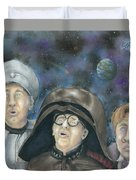 There Goes The Planet Duvet Cover