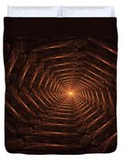 There Is Light At The End Of The Tunnel Duvet Cover