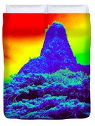 Thermal Face Of Hawaii Duvet Cover