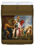 Thetis Receiving The Weapons Of Achilles From Hephaestus Duvet Cover