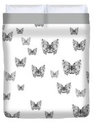 They Might Be Butterflies Duvet Cover