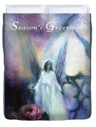 They Wait, Seasons Greetings Duvet Cover