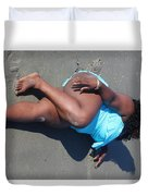 Thick Beach 2 Duvet Cover