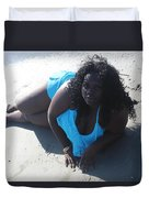 Thick Beach 4 Duvet Cover