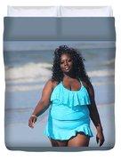 Thick Beach 7 Duvet Cover