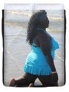 Thick Beach 8 Duvet Cover