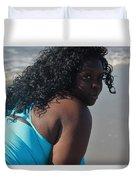 Thick Beach 9 Duvet Cover