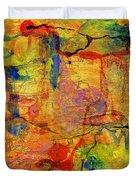Thick Film Birefringence Duvet Cover