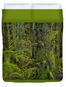 Thick Rainforest Duvet Cover