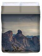 Thimble Peak Sunrise Duvet Cover