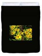 Thin-leaved Sunflower Duvet Cover