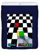 Think Different Duvet Cover