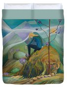 Thinking Place Duvet Cover
