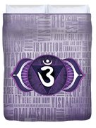 Third Eye Chakra - Awareness Duvet Cover