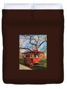 Third Ward - Popcorn Wagon Duvet Cover