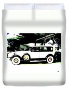 Thirties Packard Limo Duvet Cover