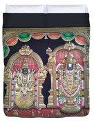 Thirupathi Duvet Cover