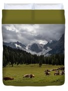 This Is A Cow's World Duvet Cover