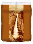 This Is Upper Yosemite Falls Duvet Cover